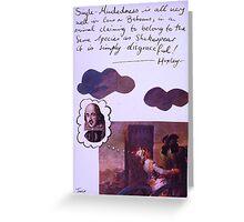 huxley Greeting Card