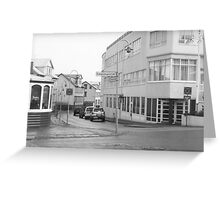 Akureyri Streetscape Greeting Card