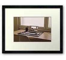 Surreal Laptop Repeating Screen 1 Framed Print