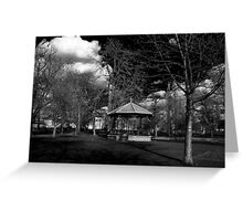 The Band Stand Greeting Card