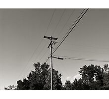 Telephone Run Photographic Print
