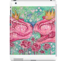 Glorified Trex Queens of Jurassic Dinos iPad Case/Skin