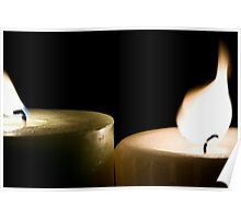 Flames apart. Poster