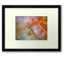 Lightworks (Fancy Jasper) Framed Print