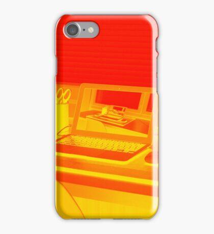 Surreal Laptop Repeating Screen 2 iPhone Case/Skin