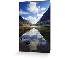 Reflections on a Scots Lake Greeting Card
