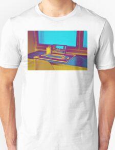 Surreal Laptop Repeating Screen 3 Unisex T-Shirt