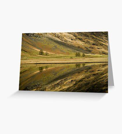 Reflecting on a Loch Greeting Card