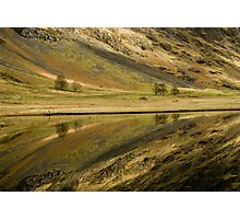 Reflecting on a Loch Photographic Print