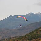 Flying high over Mt Lafayette..   by maxy