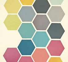 Honeycomb II by Cassia Beck