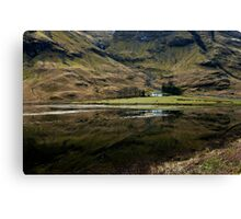 Home on the Loch! Canvas Print