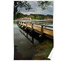 Lake Daylesford Poster