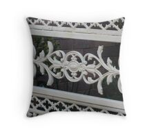 gated Throw Pillow