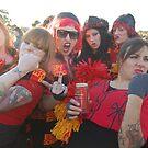 Espy Rockdogs Cheerleaders by TimChuma