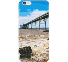 The pier at Clevedon by Tim Constable iPhone Case/Skin