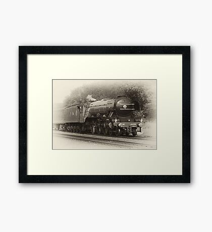 Flying Scotsman Framed Print