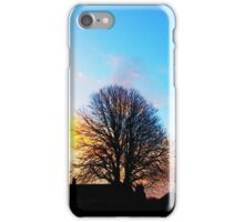 Tree at Sunrise iPhone Case/Skin