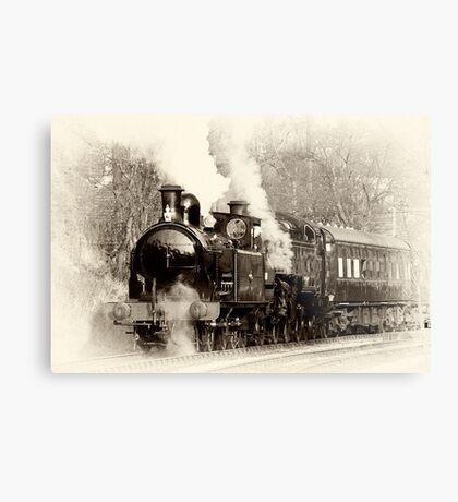 Vintage Steam Metal Print