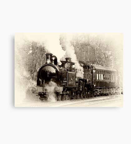 Vintage Steam Canvas Print