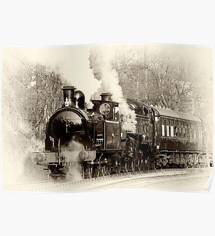 Vintage Steam Poster