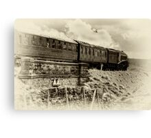 Restaurant Car Canvas Print