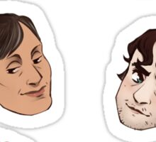 hannibal head set 1 Sticker
