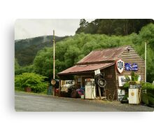 Wood's Point Service Station Canvas Print
