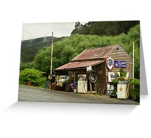 Wood's Point Service Station Greeting Card