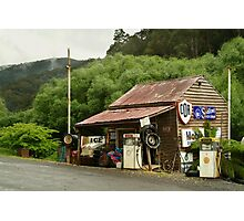Wood's Point Service Station Photographic Print