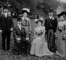 Ethell Wedding  1903 by Trevor Kersley