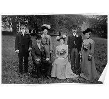 Ethell Wedding  1903 Poster