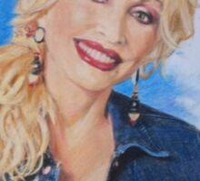 Dolly Parton fan art Sticker