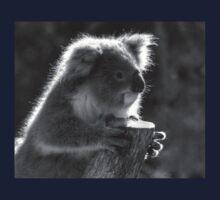 0707 Young Koala  One Piece - Short Sleeve