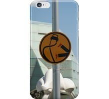 Pedestrians are double points this week iPhone Case/Skin