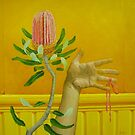 Bouquet, oil on canvas, 2006. by fiona vermeeren