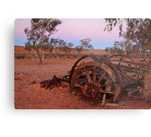 Cart Ruin, Old Andado Station, Outback Australia Metal Print