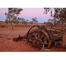 Cart Ruin, Old Andado Station, Outback Australia Photographic Print