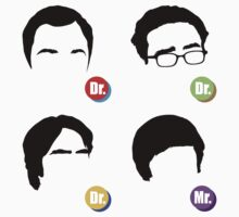 The Big Bang Theory - Dr. Dr. Dr. Mr. by BadCatDesigns
