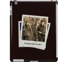 Dean, Bobby and Moose iPad Case/Skin