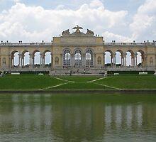 Schonbrunn Gloriette by Jenny Brice