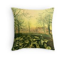 150 Years Ago Throw Pillow
