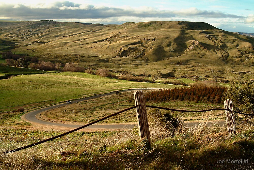 Valley Road Rowsley by Joe Mortelliti