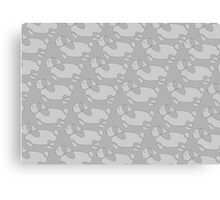 Bunnies in Grays Canvas Print