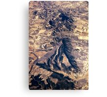 Arid Landscape Canvas Print