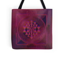 Holographic Sri Yantra Tote Bag