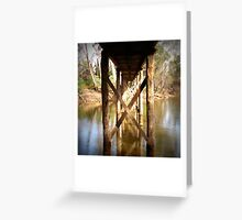 From below Greeting Card
