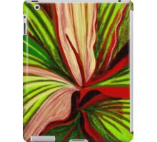 Striped Leaves iPad Case/Skin