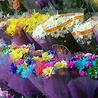 New York Corner Flowers by Lesley Rosenberg