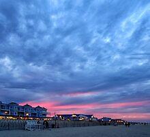 Bethany Beach Sunset by KellyHeaton